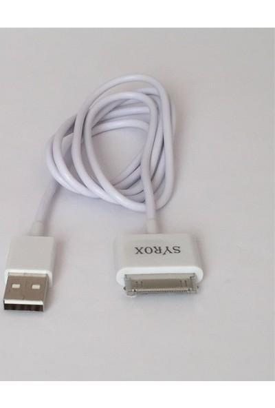 Syrox Tablet Data ve Şarj Kablosu Galaxy P1000