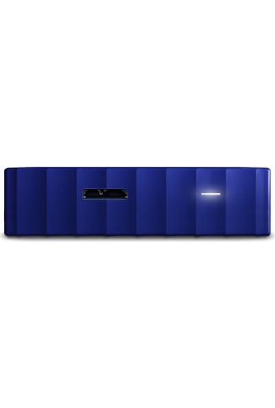 """WD My Passport 2TB2.5""""USB 3.0 Mavi Backup Taşınabilir Disk WDBS4B0020BBL-WESN"""