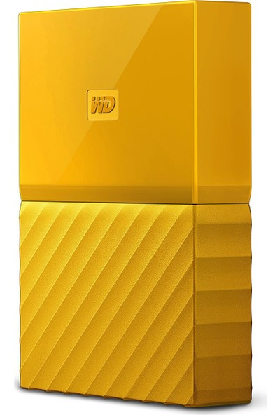 """WD My Passport 2TB2.5"""" USB 3.0 SarıTaşınabilir Disk WDBS4B0020BYL-WESN"""