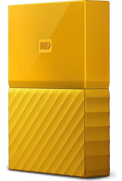 """WD My Passport 3TB2,5"""" USB 3.0 Sarı Taşınabilir Disk WDBYFT0030BYL"""