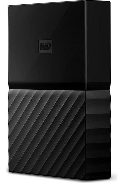 """WD My Passport 4TB2.5"""" USB 3.0 Siyah Taşınabilir Disk WDBYFT0040BBK"""