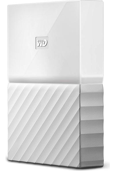 """WD My Passport 1TB2.5"""" USB 3.0 Beyaz Taşınabilir Disk WDBYNN0010BWT"""