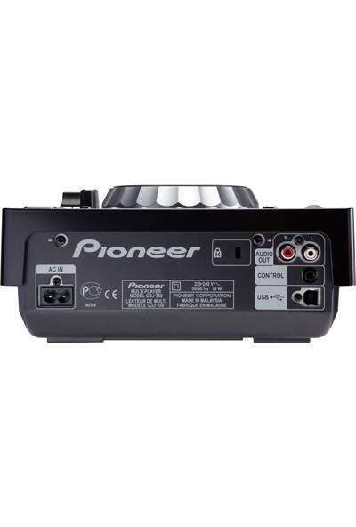 Pioneer Dj Cdj-350 / Dijital Cd, Usb Oynatıcı (Siyah)