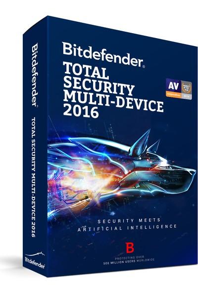 Bitdefender Total Security Multi-Device 2016 – 5 Kullanıcı