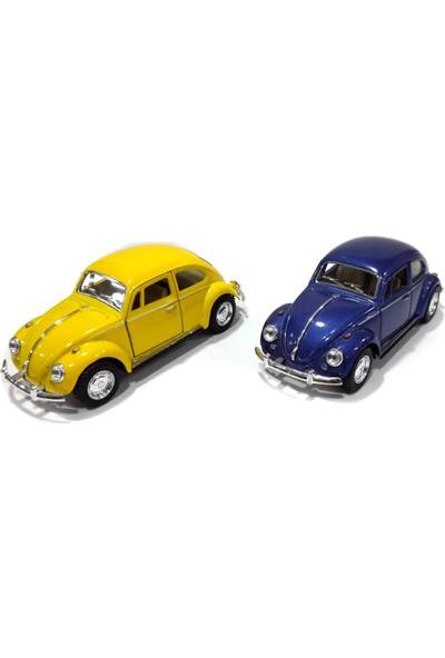 Kinsmart Volkswagen 1967 Clasical Beetle Çek Bırak Araba