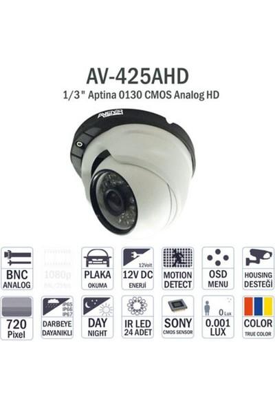 Avenir Av-425Ahd 960P Dome İç Mekan Kamera