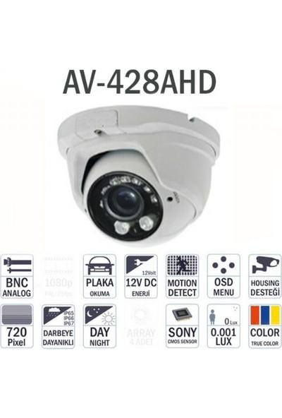 Avenir Av-428Ahd 960P Dome İç Mekan Kamera
