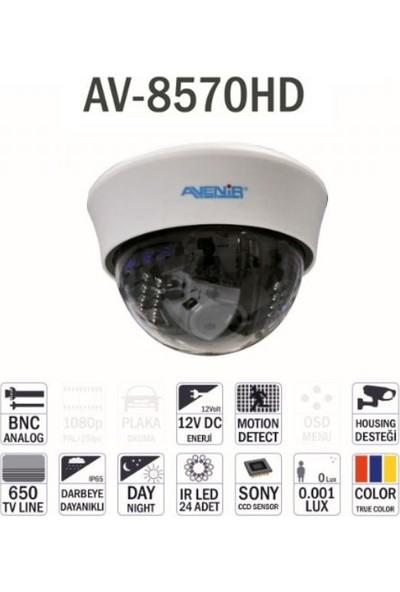 Avenir Av-8570Hd Hd Dijital Renkli Ccd Dome Kamera