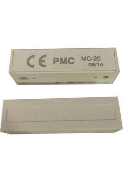 Paradox Mc-20 Nc/No Standart Tip Manyetik Kontak