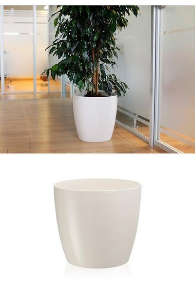 Mini Garden Mini Garden Kristal Yakut Saksı 33 LT Beyaz