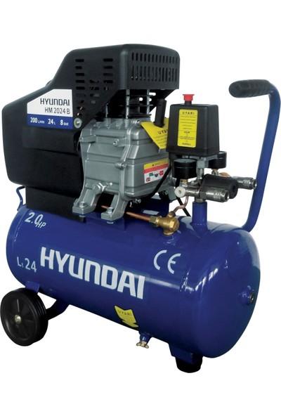 Hyundai HM2024B Kompresör 2,0Hp, 24Lt