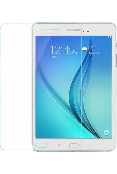 Eiroo Samsung T350 Galaxy Tab A 8.0 Tempered Glass Tablet Cam Ekran Koruyucu