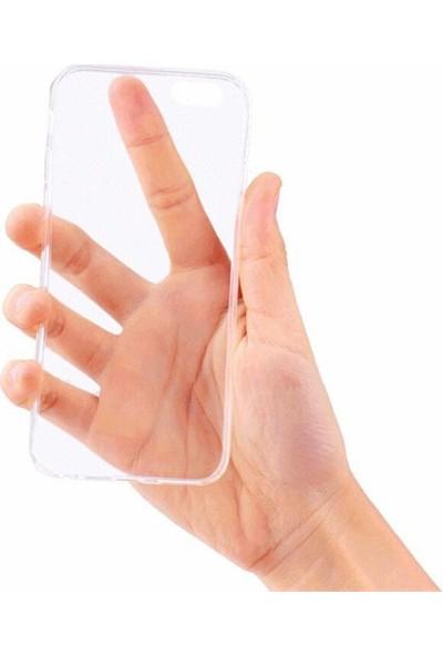 Mustek Samsung C5 9H Temper Ekran Koruyucusu + 0.2 Mm Silikon Kılıf