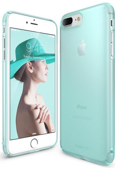 Ringke Slim Frost iPhone 7/8 Kılıf Mint - 4 Tarafı Saran Tam Koruma İnce Buzlu Şeffaf