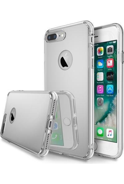 Ringke Mirror Fusion iPhone 7 Plus Aynalı Kılıf Silver - Extra Darbe Emici