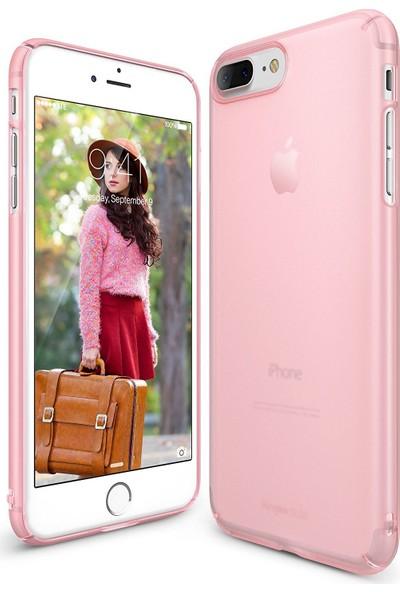 Ringke Slim Frost iPhone 7/8 Plus Kılıf Pink - 4 Tarafı Saran Tam Koruma İnce Buzlu Şeffaf