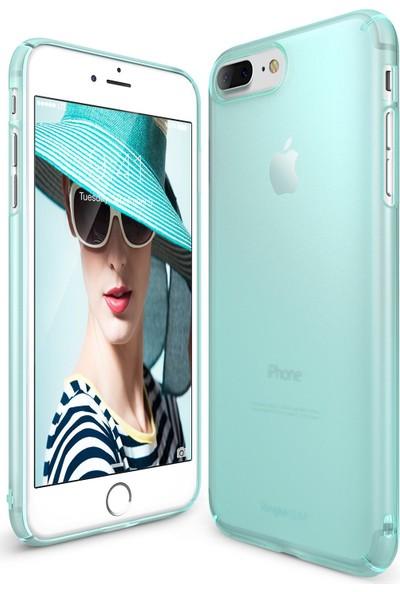 Ringke Slim Frost iPhone 7 Plus Kılıf White - 4 Tarafı Saran Tam Koruma İnce Buzlu Şeffaf