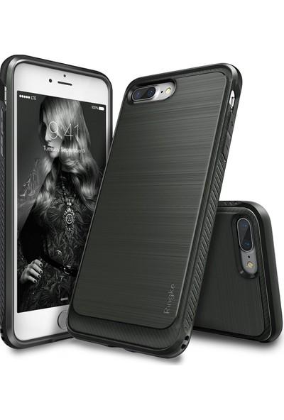 Ringke Onyx iPhone 7/8 Plus Kılıf Mist Gray - Ultra Extra Darbe Dağıtıcı Tam Koruma