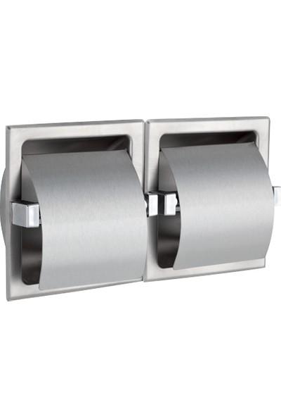 Çelik Banyo Cıftlı Sıva Altı Kağıtlık 304 Kalite