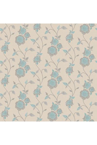 Çiçek Desen Duvar Kağıdı