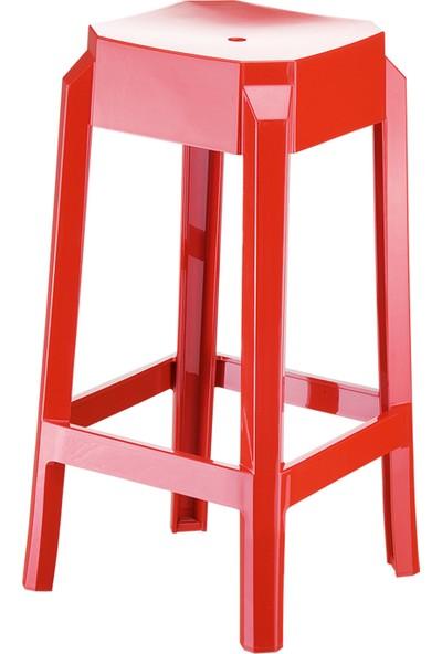 Siesta Contract Fox 65 Bar Taburesi - Parlak Kırmızı