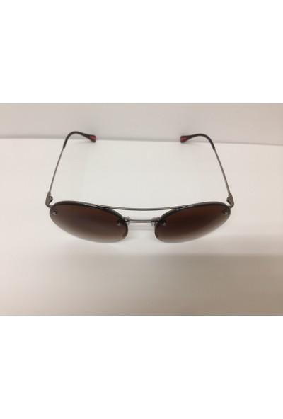 Prada Spr54R 5Av-6S1 56 18 135 Kahve Degrade Güneş Gözlüğü