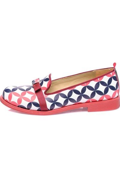 JustBow Wilma JB-314 Kadın Oxford Ayakkabı