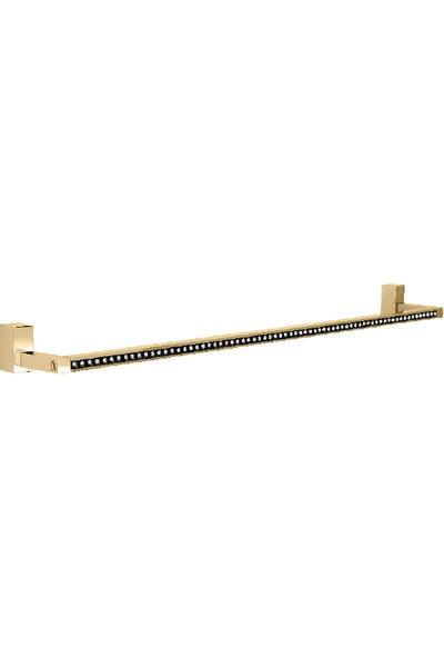 Çelik Banyo Swwor Uzun Havluluk Sarı