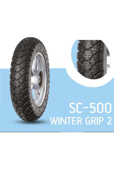 Anlas Scooter Yeni 3.50-10 Sc-500 Wınter Grıp 2 59M Tubeless Reınforced