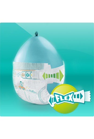 Prima 5 Beden Bebek Bezi Aktif Bebek 5Beden Junior Aylık Fırsat Paketi 124 Adet