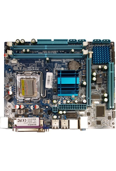Quadro G31-LM Intel G31 1333MHz DDR2 Soket 775 mATX Anakart