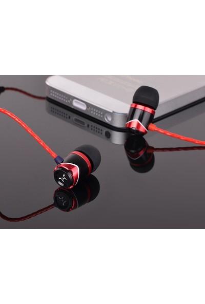 Soundmagic E10C Black Red Kulakiçi Kulaklık