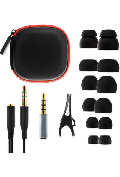 Soundmagic E10C Gun Black Kulakiçi Kulaklık