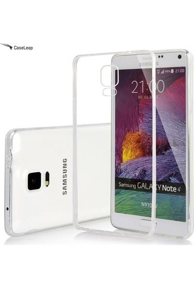 Ceptoys Samsung Note4 Silikon Kılıf Şeffaf