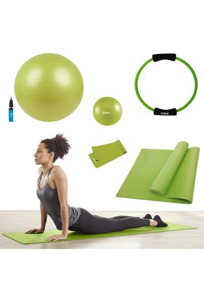 Tristar Delüks Yeşil Pilates Seti TY-6