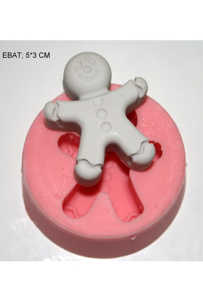 Pasta Mağaza Minik Bebek Silikon,Mum,Kokulu Taş Kalıbı