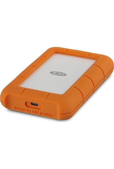 """Lacie Rugged Mini 4TB 2.5"""" USB3.0 Taşınabilir Disk USB-C (USB 3.1) STFR4000400"""