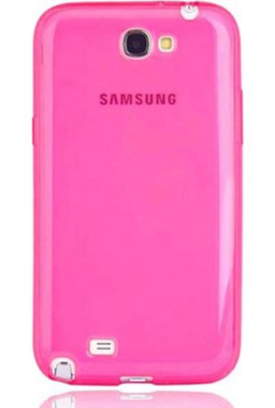 Gpack Samsung Galaxy Note 2 Kılıf 02Mm İnce Arka Kapak Silikon