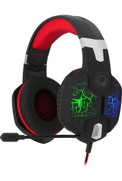 Gamemax FHP-G1425R Titreşimli Oyuncu Kulaklık