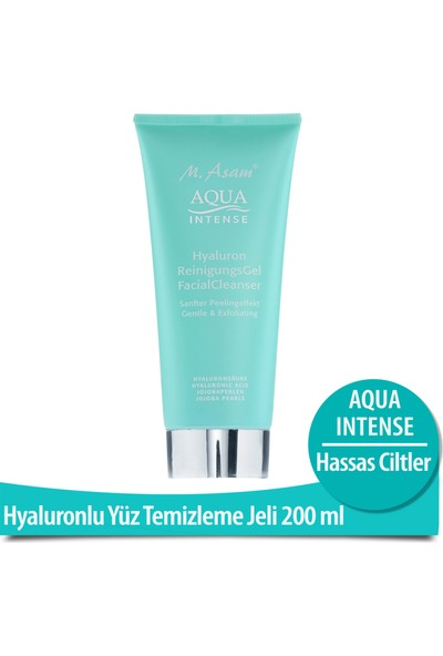M.Asam Aqua Intense Hyaluronlu Temizleme Jeli 200 Ml