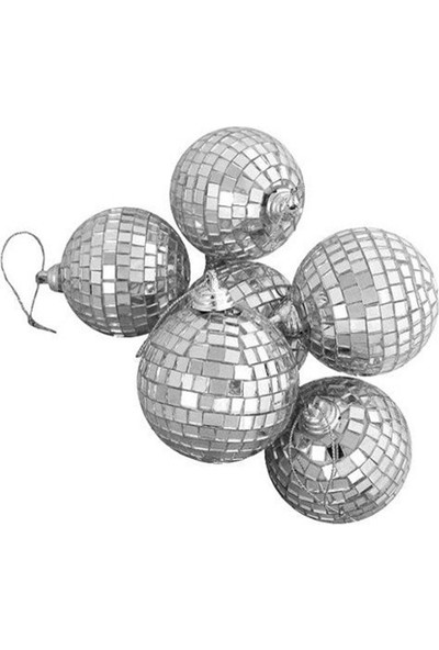 Pandoli Disko Topu Aynalı Cici Top 7 Cm 6 Adet