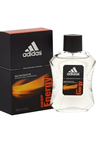 Adidas Deep Energy Edt 100 Ml Erkek Parfümü