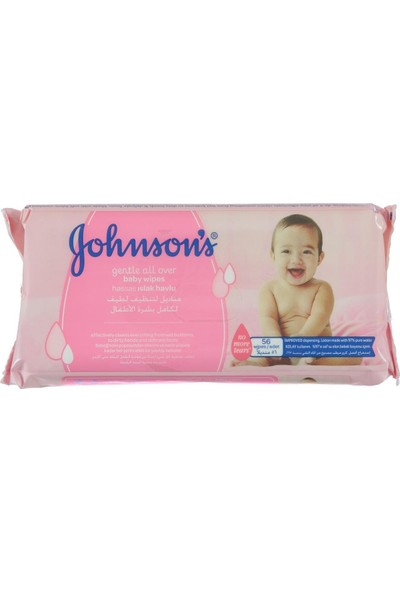Johnsons Baby Johnsons Gentle Cleansing Islak Mendil