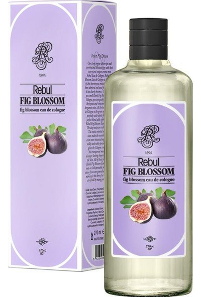Rebul Fig Blossom - İncir Kolonyası 270 Cc (Cam Şişe)
