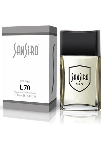Sansiro 100 ML Parfüm Bay No.E70 Ferah