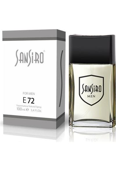 Sansiro 100 ML Parfüm Bay No.E72 Ferah