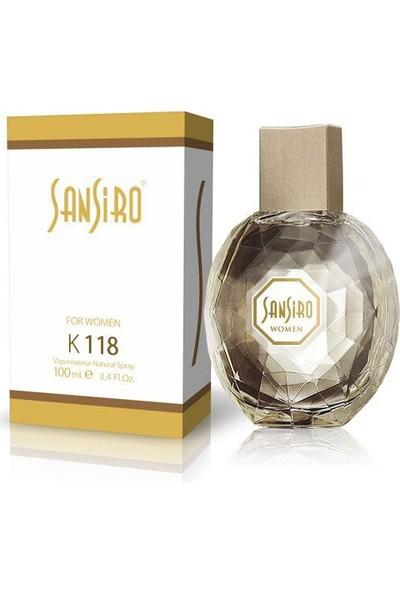 Sansiro 100 ML Parfüm Bayan No.K118 Baharatlı