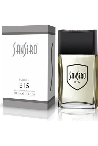 Sansiro 100 ML Parfüm Bay No.E15 Baharatlı