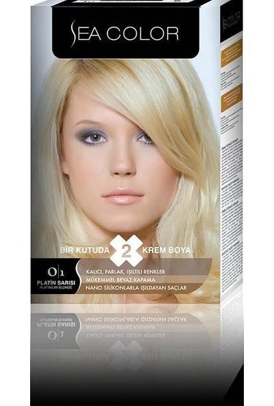 Sea Color 0/1 - Platin Sarısı Saç Boyası