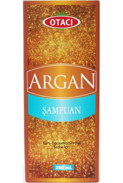 Otacı Argan Şampuan - Kuru Yıpranmış ve Normal Saçlar İçin 250ml